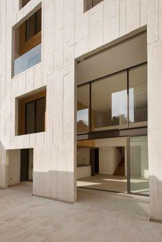 "fideliohaus - Building ""Amsterdam in DF, Mexico by JSa Df Mexico, Concrete Facade, Damier, Loft, Facade Architecture, Cladding, Floor Plans, Exterior, Gallery"
