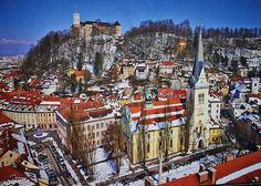 Top 5 Cities in Europe You Never Thought of Visiting - Ljubljana!