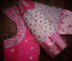 Blouse Back Neck Designs, Cutwork Blouse Designs, Cotton Saree Designs, Saree Kuchu Designs, Pattu Saree Blouse Designs, Hand Work Blouse Design, Simple Blouse Designs, Bridal Blouse Designs, Mehndi Designs