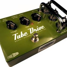 Tube Drive overdrive effects pedal
