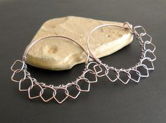 Moroccan Sun Hoops in Copper Made to Order by HeidiLeeDesign, $15.00