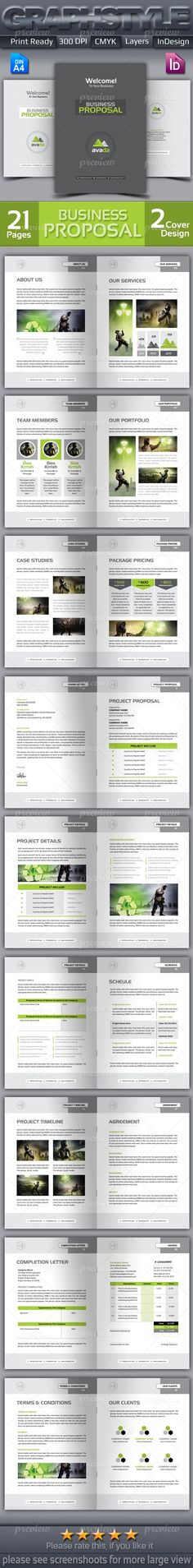 Full Proposal Template  Office Word Version  Newsletter