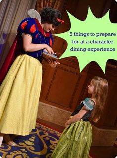 5 things to prepare for at a character dining experience by @theSIMPLEmoms