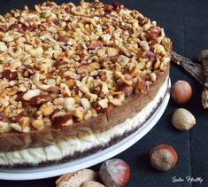 Cheesecake chocolat praliné.   { Sans sucre raffiné - Sans gluten - Faible en MG }