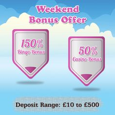 #FridayFeeling It's Friday and you know what that means! More time to relax and play your favorite #online #bingo and #casino #games! Visit https://www.gamevillage.com and top up your accounts to benefit from our #Weekend Bonus offer!   Validity :23rd- 25th Oct, 2015  For Bonus & Withdrawal Rules visit https://www.gamevillage.com/terms-and-conditions