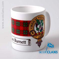 Burnett Clan Crest M