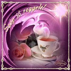 Good Morning, Tea Cups, Tableware, Blog, Google, Buen Dia, Dinnerware, Bonjour, Tablewares