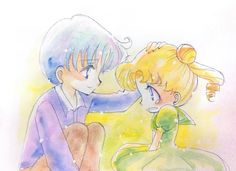 Usagi x Mamoru ♡ Sailor Moon and Tuxedo Mask / Princess Serenity and Prince…