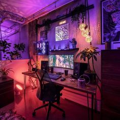 Sir gaming on a nature theme setup with dope light! by djdiscoverweekly sir techgaming to find out more! rate this 1 10 shorty_tech for daily gaming setup inspiration ____________________________ credit to like today pin