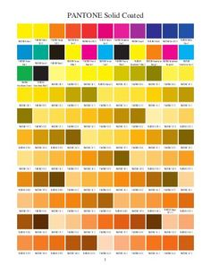 Pantone Solid Coated
