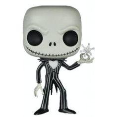 Figurine POP! Jack Skellington avec Flocon de Neige - L'Étrange Noël de Monsieur Jack