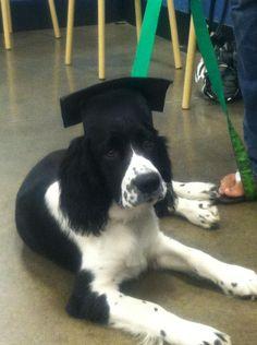 So proud to graduate