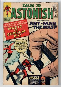 TALES TO ASTONISH #47 Grade 5.0  Ant-Man & The Wasp! SILVER AGE!  http://www.ebay.com/itm/TALES-ASTONISH-47-Grade-5-0-Ant-Man-Wasp-/302255625201?roken=cUgayN&soutkn=XNl6oU