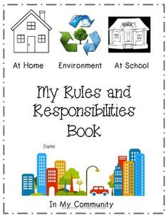 This 6 page book aligns with the grade 1 Alberta Program of Studies. This is a perfect resource to use for the beginning of the year! It can be used in kindergarten, grade 1 - 3. The rules and responsibilities book focuses on the definition of the word rule and responsibility.
