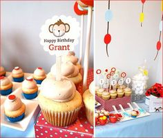 """REAL PARTIES: A """"Curious George"""" Inspired Birthday Party for Grant"""