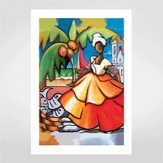 Fine art Baianinha por Glaucia Scherer R$48,00