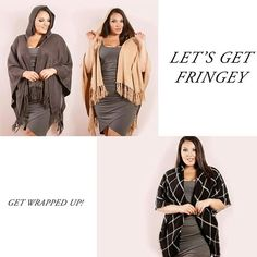 New ponchos and wraps are up on the site. We are gearing up for fall! Click the link in our bio to shop our new arrivals.