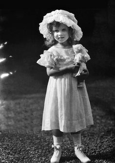 antiqueroyals:  Princess Ingrid of Sweden, later Queen Consort of Denmark