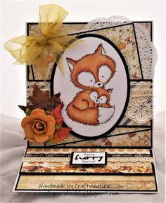 Hello, I have an autumnal creation to share featuring one of the cute Fox images from wild rose studio. July 11, The 5th Of November, September 2013, Fox Images, Cute Fox, Foxes, Creative Inspiration, Autumn, Blog