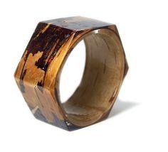 Etsy   Bark Bracelet Bark Bangle Brown Bark Jewelry by ModernFlowerChild, $44.00