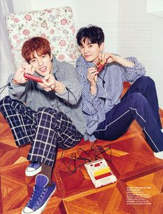 #INFINITE on Cosmopolitan's February 2018 Issue #SungYeol #SungJong