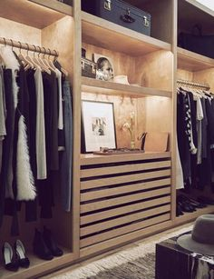 Fold, don't hang. Store neatly folded sweaters and T-shirts vertically in a dresser, not horizontally. Separate them in boxes or with dividers. This will allow you to see every item when...
