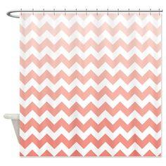 Brown Mint Monogram Shower Curtain | Monogram shower curtains ...