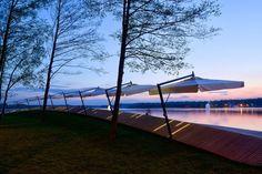 Reurbanização da orla do lago Paprocany,© Tomasz Zakrzewski