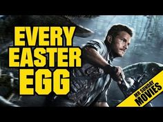 JURASSIC WORLD - Every Easter Egg & Reference - YouTube