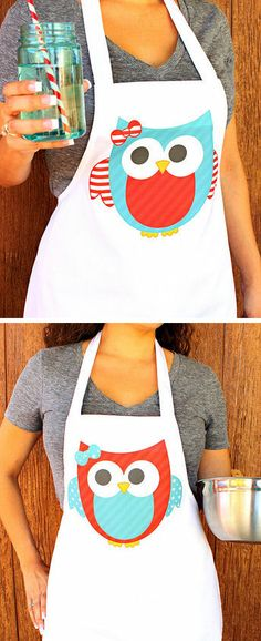 Owl Aprons ♥ SO cUte!