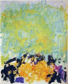 Joan Mitchell  American Painter    1925 AD - 1992 AD