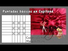 КЛАСС XVI - ОСНОВНЫЕ СТЕЖКИ CAPITONE В | Ремесла Anny - YouTube