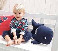 Idée créative - coussin baleine - buttinette - loisirs créatifs