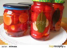 Nakládané ředkvičky recept - TopRecepty.cz Mason Jars, Vegetables, Hampers, Vegetable Recipes, Canning Jars, Veggie Food, Veggies, Glass Jars, Jars