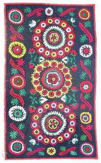 suzani embroidery panel