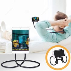 Keyboards, Mice & Pointers Have An Inquiring Mind Foldable Desk Floor Stand Lazy Bed Tablet Holder Mount For Ipad Tablet Yk Computers/tablets & Networking