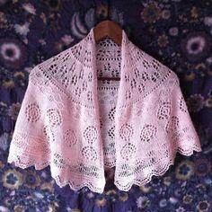 Skywalker lace Shawl via Craftsy