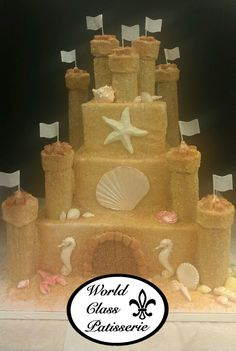Build the castle of your dreams! This World Class Patisserie Cake is available exclusively at Saker ShopRite locations. Call to schedule a consultation today! PHONE: 732-845-4929 ext. 0