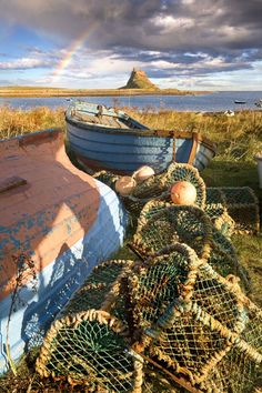 Holy Island by Chris Ceaser photography