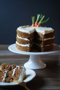 Carrot Cake with Ginger Cream Cheese Frosting | 29 Ginger Recipes That Will Spice Up Your Life