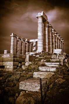 Temple of Poseidon - Cape of Sounio, Greece