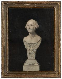 George Washington grisaille portrait
