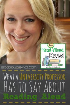Read Aloud Revival: What a University Professor Has to Say About Reading Aloud