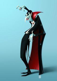 Vampire -- Denis Zilber Art