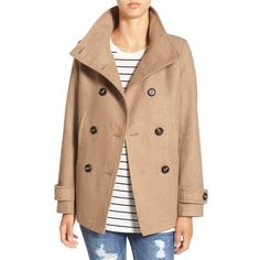 The Ten Best Winter Coats On Sale -#5 Thread & Supply Double Breasted Peacoat #rankandstyle