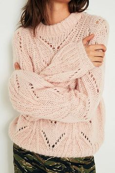 UO - Pull en maille pointelle