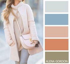 Cum se asortează corect culorile în vestimentație? Cele mai moderne culori ale sezonului și combinațiile lor. - Fasingur