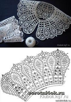 Collar Pattern...♥ Deniz ♥                                                                                                                                                      More