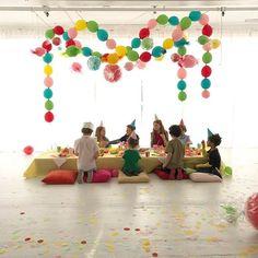 A peek into a little Candy Birthday Party.     #Regram via @ohhappyday