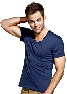 """Chris Pine served as my inspiration for the middle McKenna brother, Geoffrey. His story is told in Book 3, """"Keeping It Casual."""""""